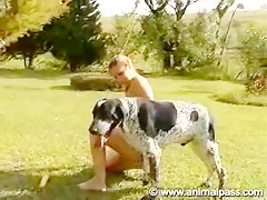 A good ass pounding your dog