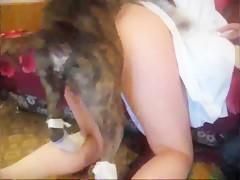 Le apasiona comer verga de perros