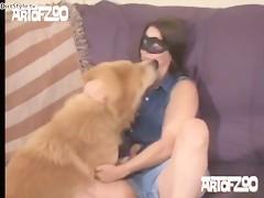 Zoofilia anal con el perro