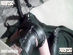 Vixen and silvy dog pleasure slave